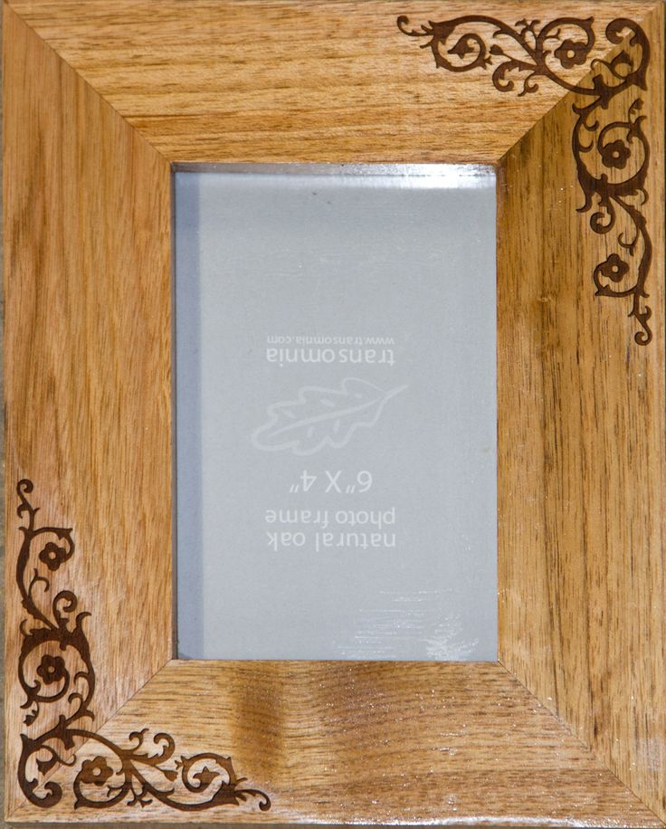 Laser engraved photo frames. Add your own words or just use images from our library of thousands. ref - 1309.GE.003