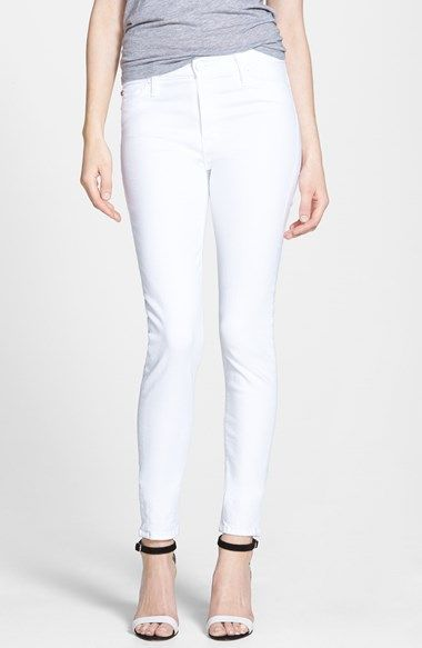 perfect white jeans | @nordstrom #nordstrom