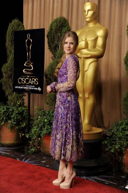 Oscar 2013: Amy Adams for Best Supporting Actress ( The Master )  4th Nomination