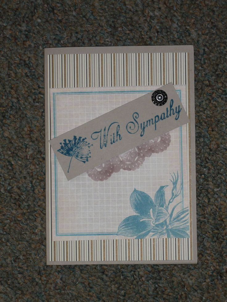 Sympathy card (Fred Julings)