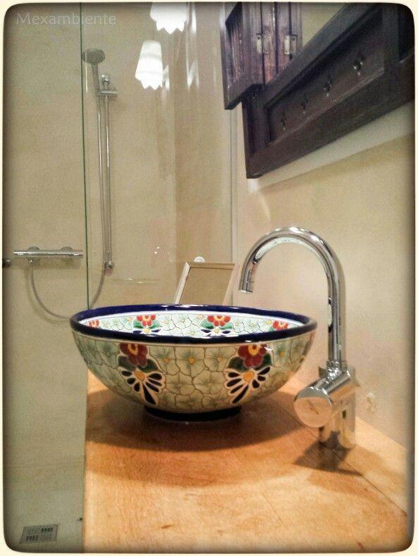 18 best images about originelle badezimmer mit waschbecken aus mexiko on pinterest handmade. Black Bedroom Furniture Sets. Home Design Ideas