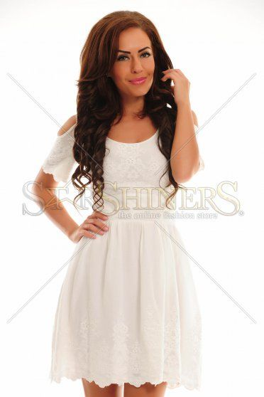 LaDonna Spoiled Women White Dress