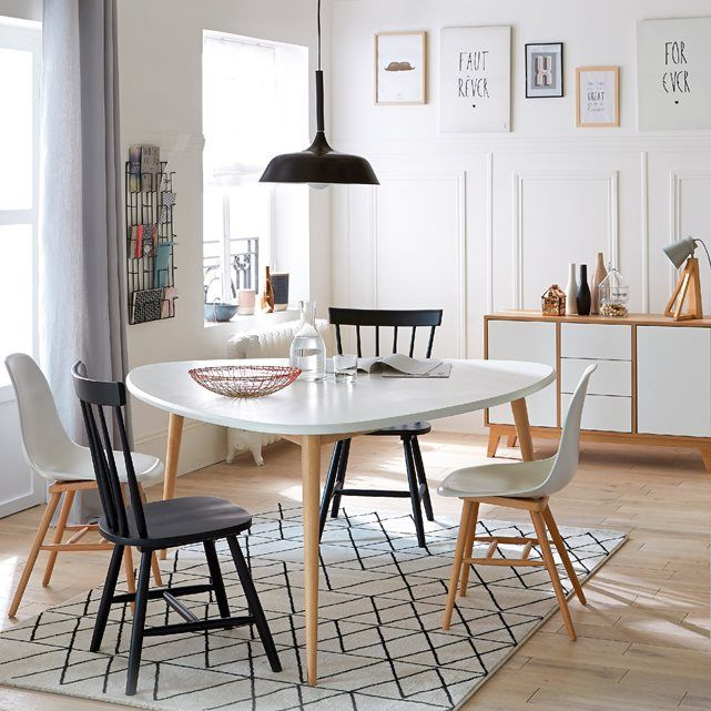 25 best ideas about chaises d pareill es sur pinterest for Model de table a manger en bois