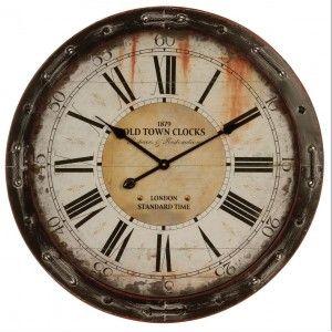 les 10 meilleures images du tableau horloge sur pinterest horloge murale chiffres romains et fer. Black Bedroom Furniture Sets. Home Design Ideas