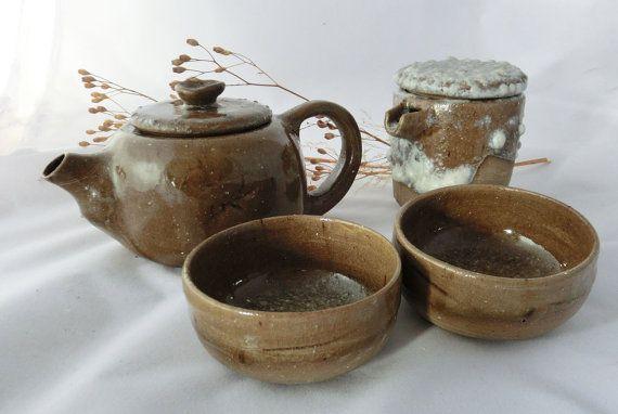 Juego de t de cer mica estilo japon s hecho a por for Concepto de ceramica