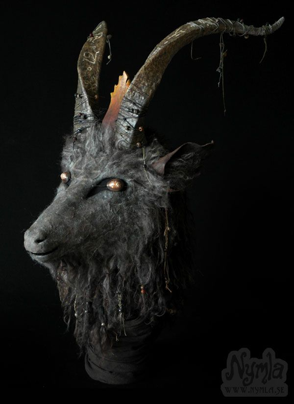 Satanic Goat Head Mask