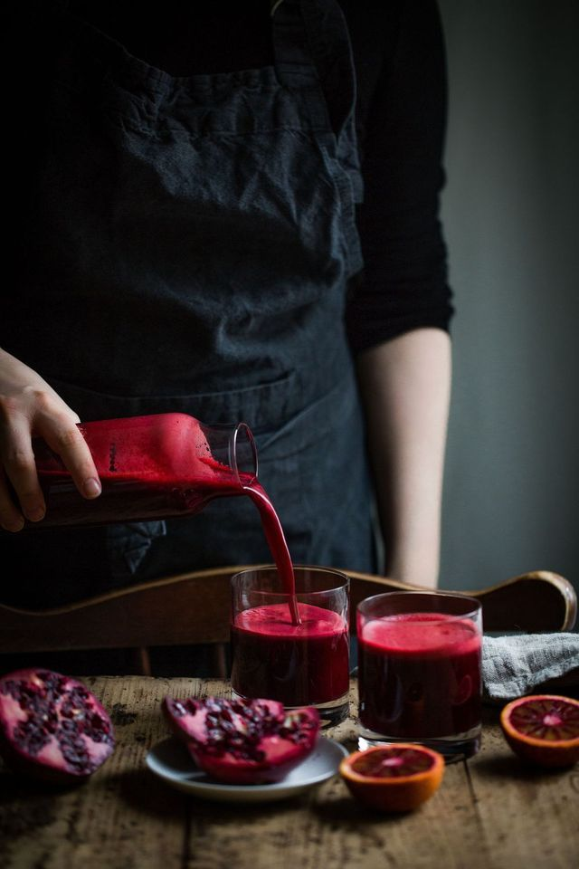 Detox Juice with Beetroot and Pomegranate