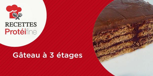 Important : à déguster en deux fois INGRÉDIENTS 6 Finissimas toasts Protéifine® 1 Crème dessert saveur Chocolat PRÉPARATION Tapisser le fond du moule avec les finissimas toasts et couvrir d'une couche de crèmeChocolat Protéifine et ainsi de suite pour former les trois étages Laisser reposer au frigo environ une demi-heure et déguster la moitié de …