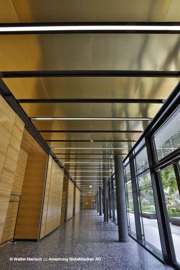 Geriatriezentrum Liesing - gema Armstrong Metalldecken