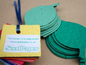 Bespoke  At Seed Paper we love doing unusual and interesting projects, the expertise we have means that we can bring to life a whole range of more standard stationery products including:   •Product packaging   •Exhibition/Event name tags   •Swing tags   •Mail merged items   •Cup holders   •Envelopes   •Programmes   •Menus   •Bookmarks   •Postcards   •Bellybands     For more information on a custom job or for any samples please email us at custom@seedpaper.co.uk