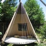 Bedtrampolinehammock Love This Idea With Some Mosquito Netting Hammock With Bug Net | Center For Devinity