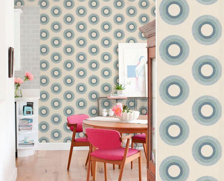180 best papier peint salle manger images on pinterest. Black Bedroom Furniture Sets. Home Design Ideas