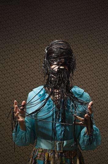 Overtly Violent Art: Disturbing Photography by Alison Brady Looks Murderous