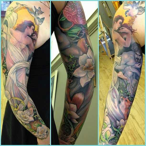 Jeff Gogue. Persephone and Hades sleeve