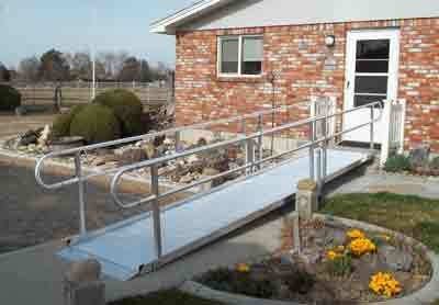 ADA Modular Wheelchair Ramps for Handicapped Access for your Home or Business