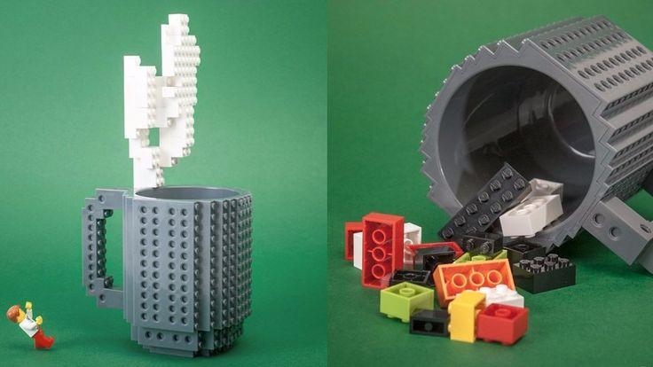 Taza Lego con piezas incluidas $398 (varios colores)
