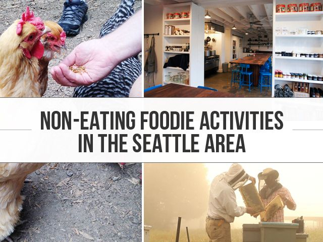 The essential guide to non-eating foodie activities in the Seattle area. Get ready to experience Seattle, WA beyond it's great restaurants and bars.