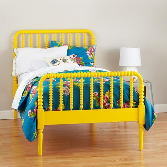 Shop Jenny Lind Kids Bed (Yellow). Our Jenny Lind Kids Bed (Yellow), featuring dozens of woodturnings, provides a modern take on the classic design.