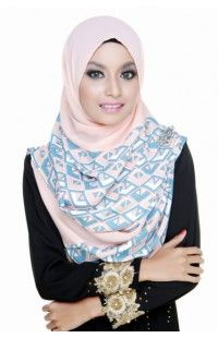 Printed Shawl On Sale @ tudungterkini4u.com. Starting price from $10 !! A must have !  #hijab #hijabi #tudung #shawl #islam #respect #religion #muslim