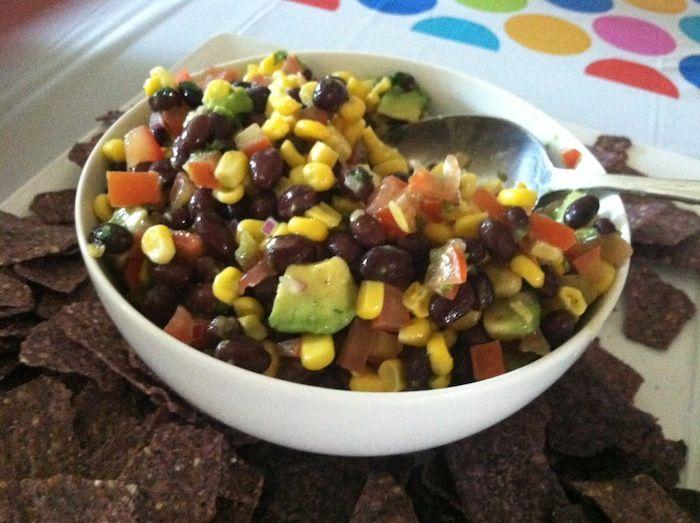 Black Bean Salsa Recipe - Easy Salsa Recipe | Lady and the Blog