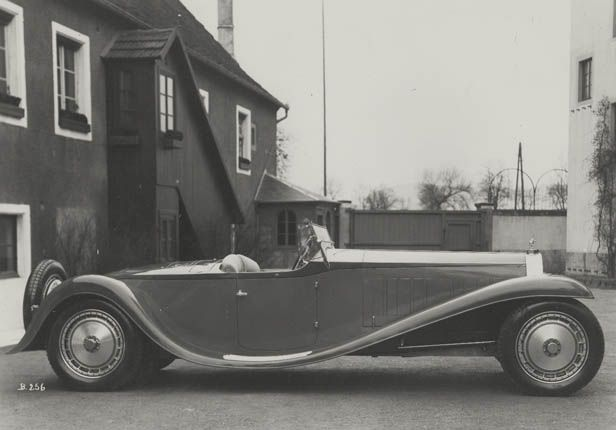 """Type 41 """"Royale"""" ~ Year of manufacture:1926–33, Units built:6"""
