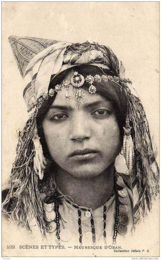 Portraits de femmes d'Algérie(1880-1930)