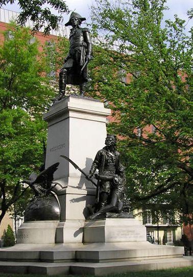 Washington, D. C.  - Gen. Thaddeus Kosciuszko monument.