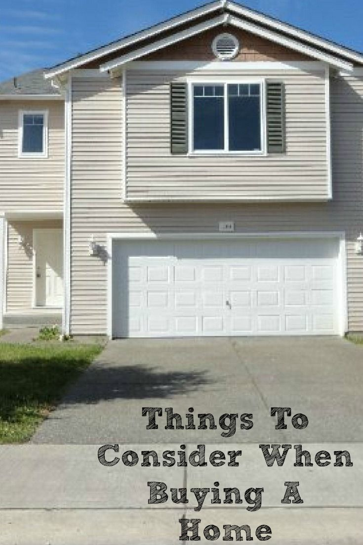 There are so many Things To Consider When Buying A Home! It is important to take time to consider all factors that play into the process and the end result.   #CORTatHome #homesweethome #moving #ad