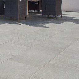 Marshalls Symphony Smooth Grey Paving Slab Beta Patio Pack 16.06 M2 |  Wickes.co.