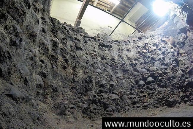 Una torre de cráneos humanos vuelve a sembrar una nueva incógnita del Imperio Azteca