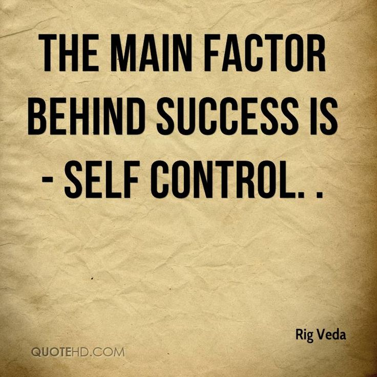 Quotes About Self: Self Control Quotes - Google Search