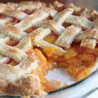 Preisgekrönter frischer Pfirsichkuchen   – Pie