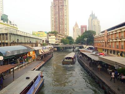 První dny v Bangkoku
