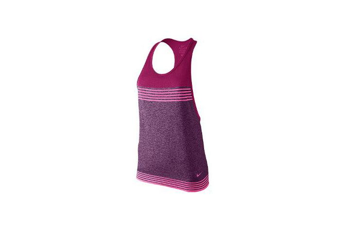 #Nike Dri-FIT Knit Loose Tank -  damska koszulka treningowa na ramiączkach o luźnej konstrukcji. Zastosowany w niej materiał,gwarantuje idealne odprowadzanie wilgoci oraz oddychalność na najwyższym poziomie. Rekomendowana do fitnessu i ćwiczeń na siłowni. #koszula #fitness #drifit #drifitknit #jesienzima2015