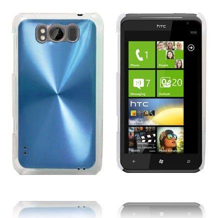 Aluminium Shield (Lys Blå) HTC Titan Cover
