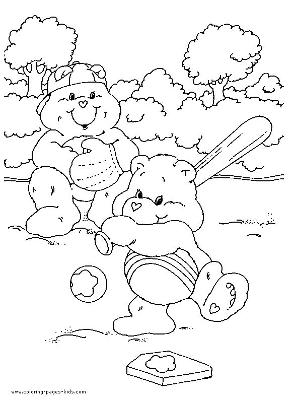 Care bears coloring pages to print care bear color page cartoon color pages