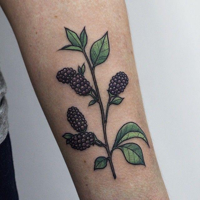 Botanical floral tattoo by olga nekrasova ink for Botanical tattoo london