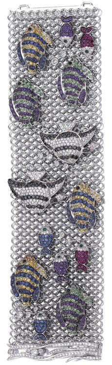 Michele Della Valle, Diamond and Gem Bracelet