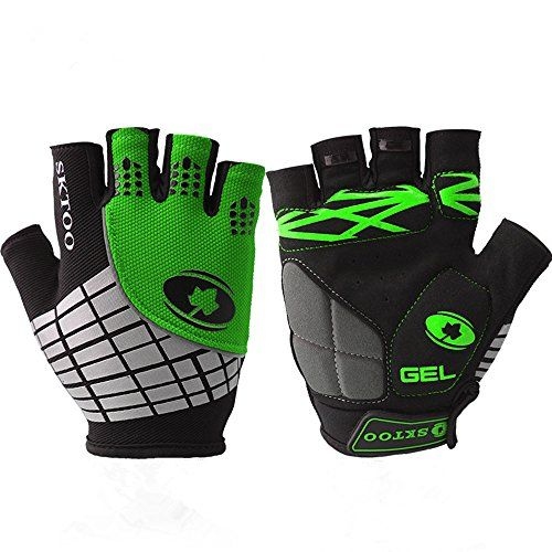 Boys' Cycling Gloves - Best AdultsYouth Mountain Bike BMX Gloves Cool Elite Specialized Street Bike Motorcycle Biker Bicycle Gym Mtb Cycling Racing Driving Jogging Halffinger Knit Glove ** Read more reviews of the product by visiting the link on the image.