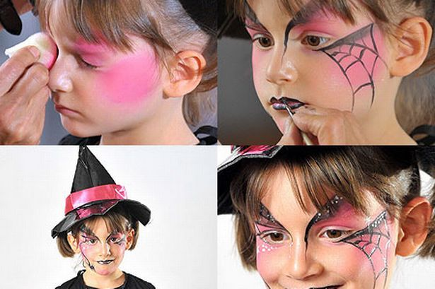 Halloween - Witch face painting