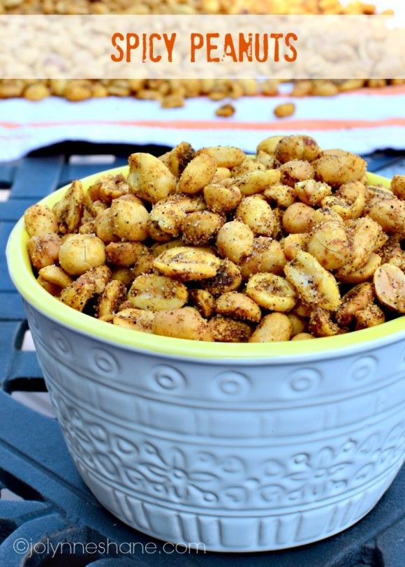Spicy Peanuts - Great game day snack!