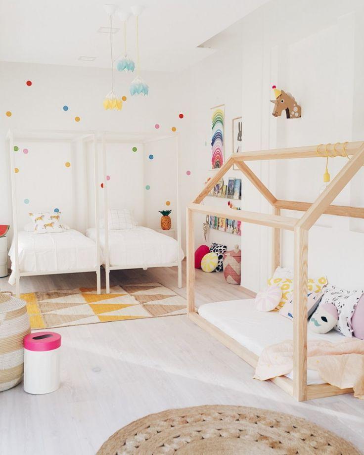 Les Meilleures Idées De La Catégorie Chambre Partagée Enfants - Decor pour garcon et fille chambre partagee
