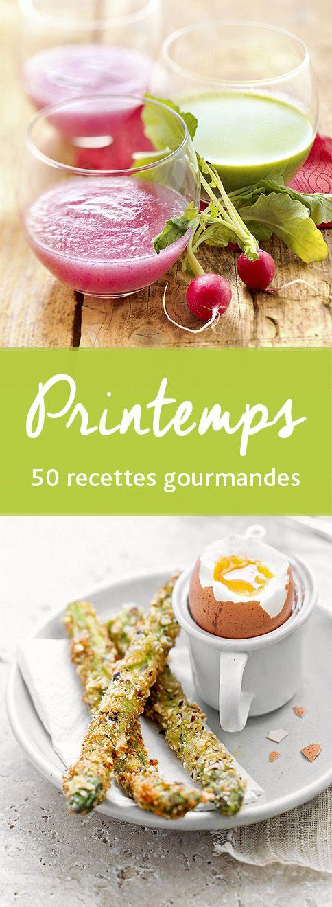 50 recettes gourmandes pour savourer le printemps !