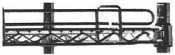 "Metro L48N-4S Super Erecta Stainless Steel Stackable Ledge 48"" x 4"" by Intermetro. $42.99. Metro L48N-4S Super Erecta Stainless Steel Stackable Ledge 48"" x 4"""