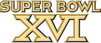 Super Bowl XVI Logo