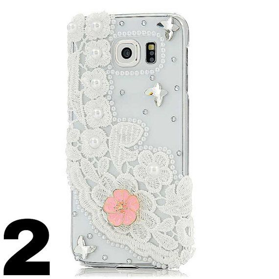For Samsung S6 Rhinestone Phone Cases Luxury Diamond by TAKIPARK