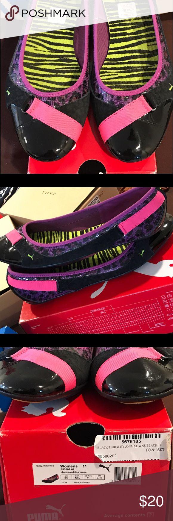 Puma ballerina flats Cute and comfy puma ballerina flats gently used. Puma Shoes Flats & Loafers