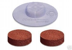 Metal Foam Purifier High Porosity Disc For Spas 2 pack