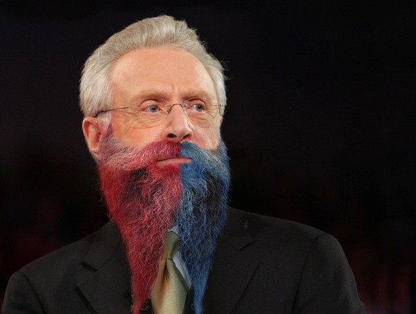 Wolf Blitzer Debuts New Real-Time Election Results Beard   The Onion - America's Finest News Source