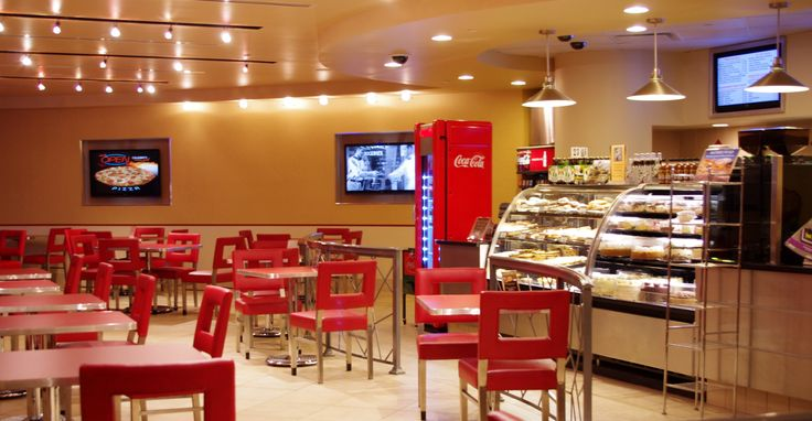 Open 24-hours and located just off the main lobby. Come dine in our newly-renovated Grill serving pizza, po-boys, burgers, breakfast and fresh baked pastries daily. We proudly serve Starbucks coffee.
